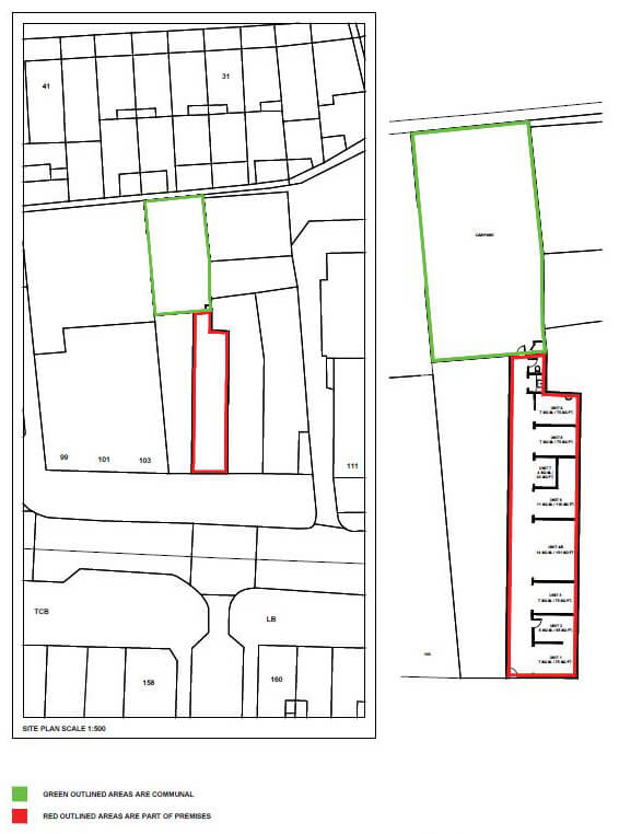 Commercial Lease Plan in London
