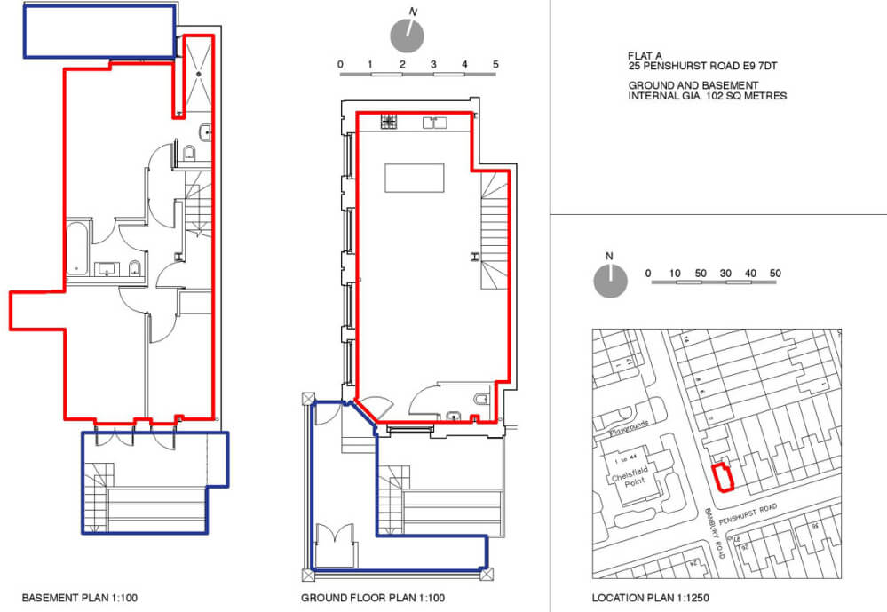Residential Lease Plan Holloway